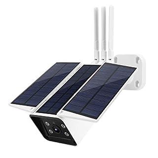 1080P HD Solar Powered Security Camera, Folding WiFi Camera