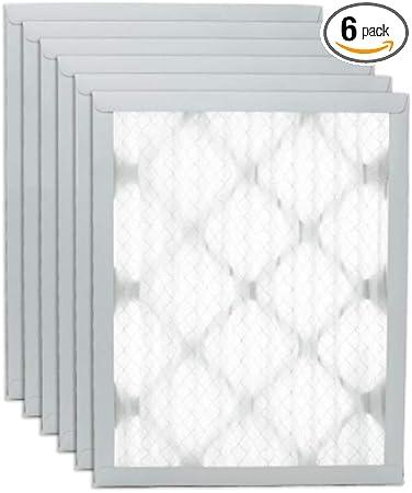 US Home Filter SC80-24X24X1-6 24x24x1 Merv 13 Pleated Air Filter 6-Pack 24 x 24 x 1 24 x 24 x 1 Midwest Supply Inc