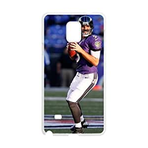 Baltimore Ravens Samsung Galaxy Note 4 Cell Phone Case White DIY gift zhm004_8722652