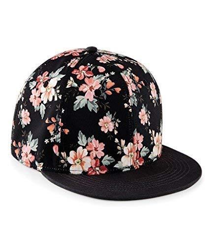 60 Limited Ou Makeover Pic Noire Unisexe Mono Hawaïen Casquette Second Mode Graphique Minéral Floral Size Hommes One Femmes Floral wq8r5wEPx