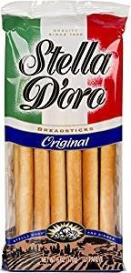 Stella Doro Breadsticks Original 6 Oz. Pack Of 3.