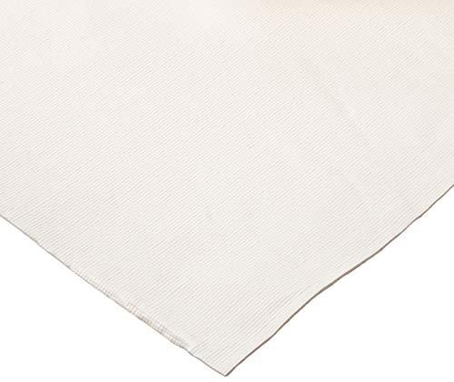 "HomeCrate TPAD Wide Premium Cushioned Heavy Duty Vinyl Table Pad, 70"" X 120"", Cream"