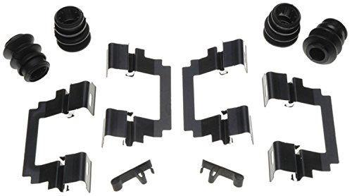 (ACDelco 18K1357X Professional Front Disc Brake Caliper Hardware Kit with Clips and Seals)