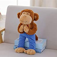 Juguete De Peluche Yoga Bear Plush Toy Creative Cute Yoga Bear Koala Monkey Plush Doll Soft Animals Kids Toys Birthday Gift Monkey