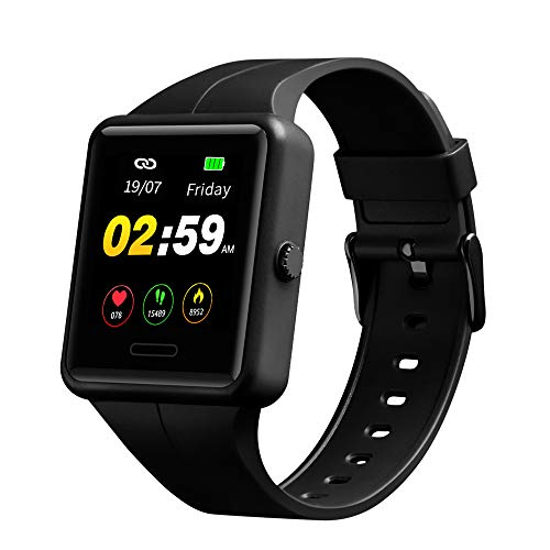 SKMEI Smart Watch for Android Phones and iPhones, Fitness Tracker with Heart Rate and Sleep Monitor, Waterproof Smart Watches for Men Women