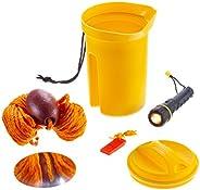 Attwood Marine Bailer Safety Kit - Flashlight Whistle Bailer & Line Bailer Safety Kit 11830-2 - Flashlight