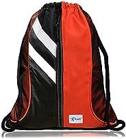Risefit Waterproof Drawstring Backpack, Swimming Travel Shopping Gym Bag Nylon Sports Backpack for Men Women G