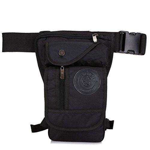 a998a9cc128f Hebetag Nylon Drop Leg Bag for Men Women Tactical Military ...