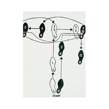 andy warhol dance diagram tango 1962 art print poster - 11x14: amazon ca:  home & kitchen