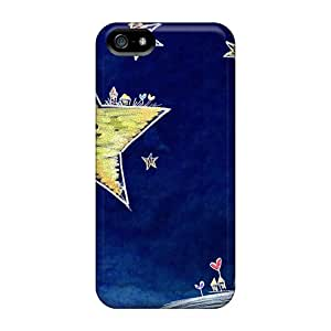 Perfect Fit ZxiSULM7729SxiwX Star Bright Star Night Case For Iphone - 5/5s