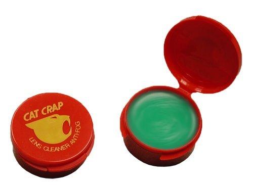 EK Ekcessories 10003P-AM Cat Crap Anti-Fog Lens Cleaner and Paste - 1/2 oz.