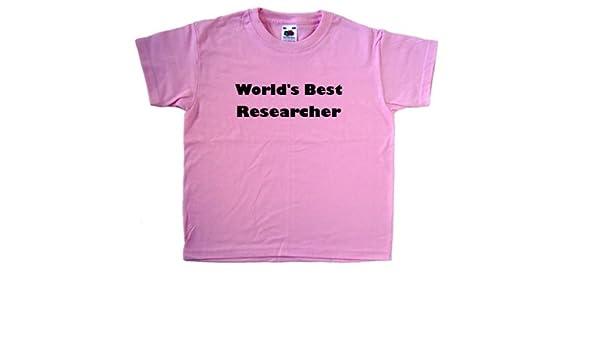 World/'s Best Researcher T-Shirt