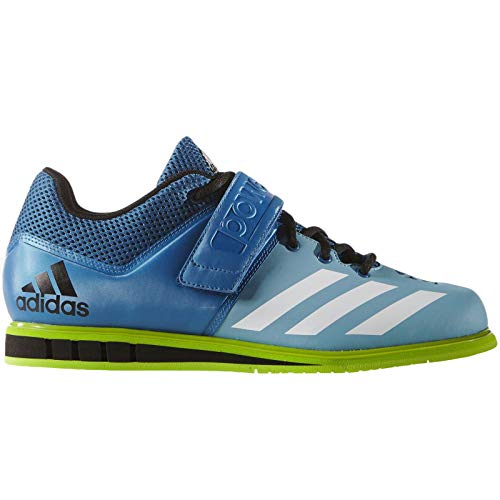adidas Performance Mens Powerlift.3 Weightlifting Trainers Shoes - 13.5 Blue, Green