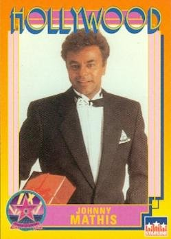 Johnny Mathis trading Card (Singer) 1991 Starline Hollywood Walk of Fame #22 Autograph Warehouse
