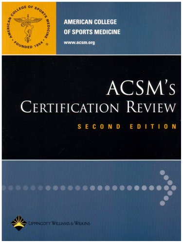 ACSM's Certification Review -