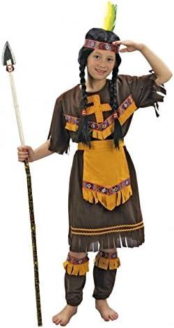 Yuppiyei DISFRAZ DE INDIA MARRON - 10-12 AÑOS: Amazon.es: Ropa y ...