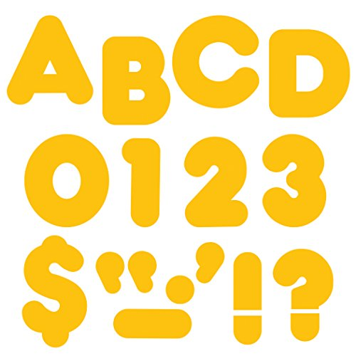 "TREND enterprises, Inc. Gold 2"" Casual Uppercase Ready Letters -  T-488"