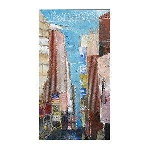 Sterling Industries 146-008 40'' Alberto De SerafinoNew York City Ii Canvas Wall Art, Multi-Color Finish