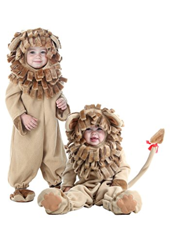 Lion Costume for Baby Boys Girls, Infant Cute Halloween Animal Cosplay Outfit Masquerade Accessory (Cute Country Girl Costume)