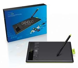 Wacom Bamboo Pen and Touch Generation 3 - Tableta gráfica (Bolígrafo incluido, Nivel de presión: 1024), negro