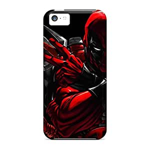 SuperMaryCases Iphone 5c Well-designed Hard Case Cover Deadpool Protector