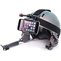 Snowboarding Camera for Your Helmet, Beanies, Hats, and more. Fits iPhone, Samsung Galaxy, Note and More. Film Your Rides.