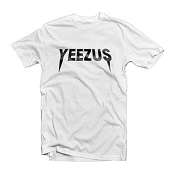 Tsh-Us Women's Yeezus Kanye West T-Shirt Tour Concert X Large White