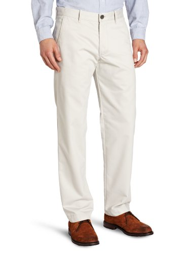 Mr Costume Clean (Haggar Men's Life Khaki Slim Fit Flat Front Chino Casual)