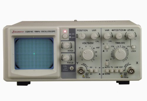 (Sinometer 10 MHz Single Channel Oscilloscope, CQ5010C )