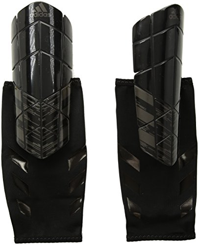 adidas Ghost Pro Nite Crawler Shin Guards, Core Black/Utility Black, Small