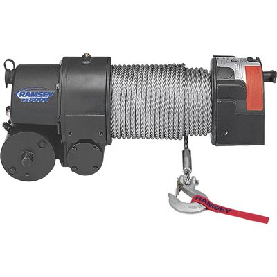Ramsey Front Mount Winch - 3
