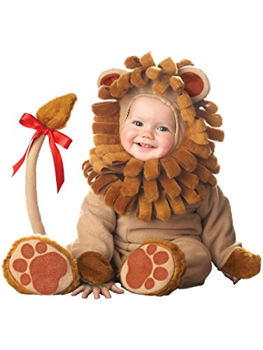 [InCharacter Costumes Baby's Lil' Lion Costume, Tan, X-Small] (Wizard Of Oz Costumes)