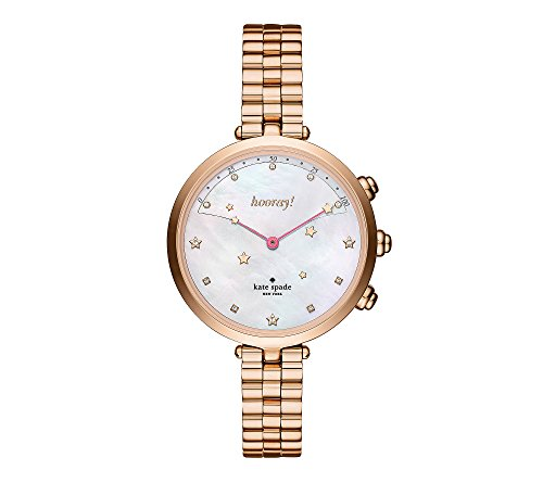 Analog Hybrid (kate spade new york Womens KST23206 Holland Hybrid Analog Display Quartz Rose Gold Smart Watch)