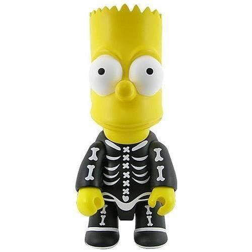 Bart Simpson Halloween Bart Bone Qee Keychain -