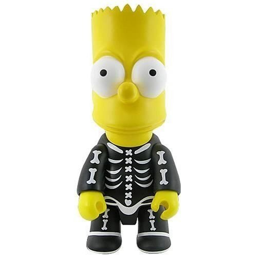 Bart Simpson Halloween Bart Bone Qee