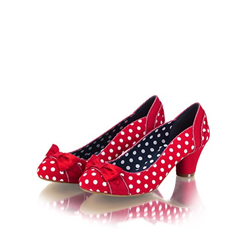 Spots Pumps Red Women's Court Ruby Bag and Shoo Shoe Santiago Hayley Matching wXqwxPFR