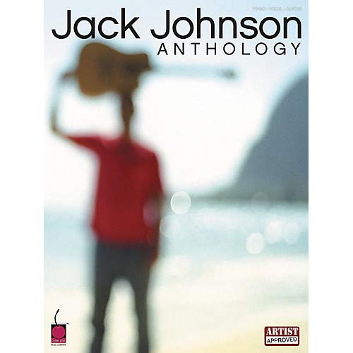 Jack Johnson Anthology Piano, Vocal, Guitar Songbook Pack of 2