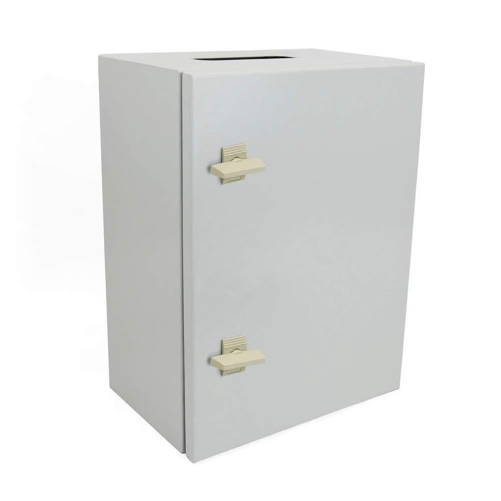 BeMatik - Metal electrical distribution box IP65 for wall mounting 600x500x200mm BeMatik.com