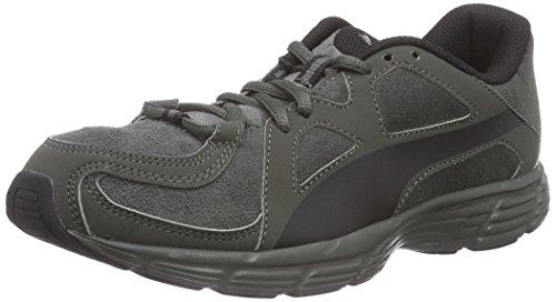Puma Axis v3 SD - zapatilla deportiva de piel Unisex adulto gris - Grau (dark shadow-black 03)