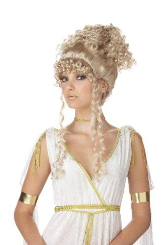 Athenian Goddess Blonde Wig Costume Accessory