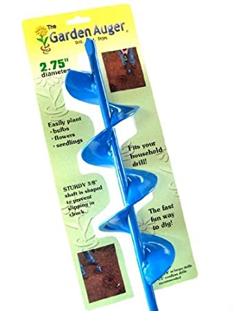 Amazoncom Garden Auger Bulb Planter 25 x 24 Regular Duty