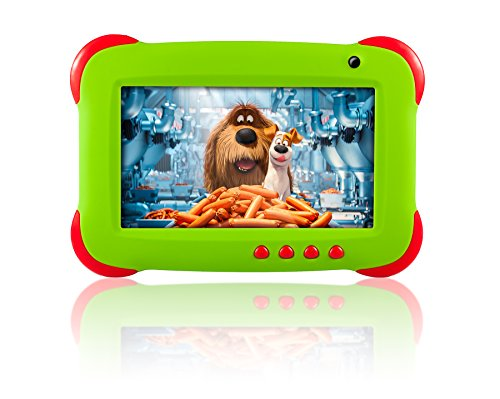 Fusion5 7'' Ergonomic Designed Kids Tablet PC - Quad Core, WiFi, Games, 1GB RAM, 8GB Storage, IPS Screen, Kids Apps, Dual Camera, Parental Controls and many more - Tablets for Kids with Wifi by Fusion5