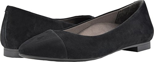 Vionic Women's Caballo Black Suede 6 W US by Vionic