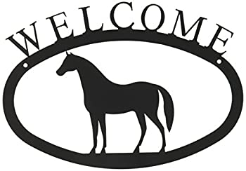 11 Inch Horse Welcome Sign Small 0