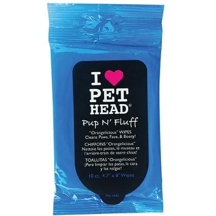 I Love Pet Head Pup N Fluff - Wipes 10 Count