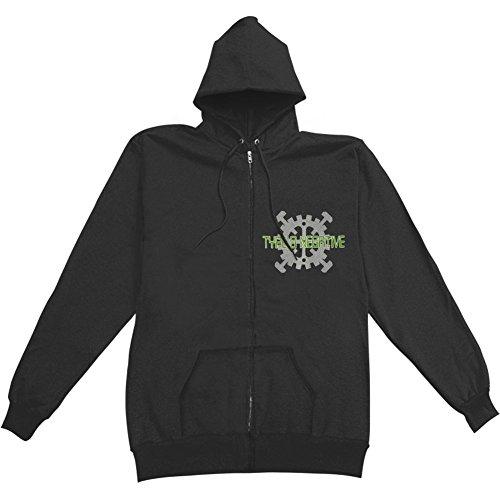 Type O Negative Men's Electrakill Zippered Hooded Sweatshirt X-Large Black