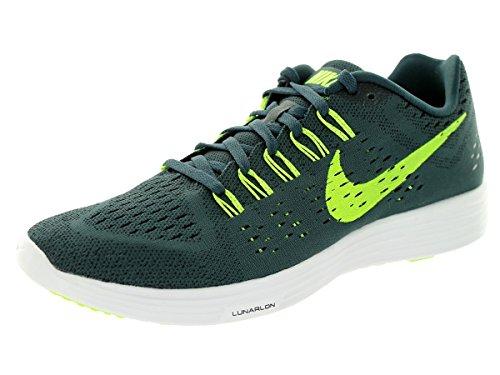 Nike Kvinna Lunar Tempo Löparskor Klassiska Charcl / Volt / Blk / White