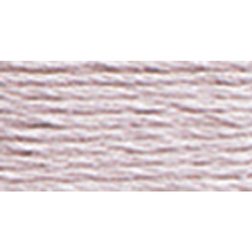 DMC 117-3743 Mouline Stranded Cotton Six Strand Embroidery Floss Thread, Light Antique Violet, 8.7-Yard (Antique Dmc Floss)