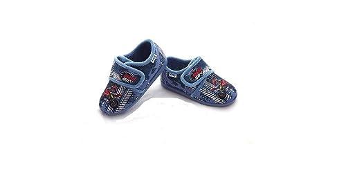 Zapatillas DE CASA NIÑO Cerrada Velcro Jeans ZAPY 30 (34)