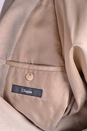 Z Zegna Homme MCBI319009O Beige Tissu Blazer